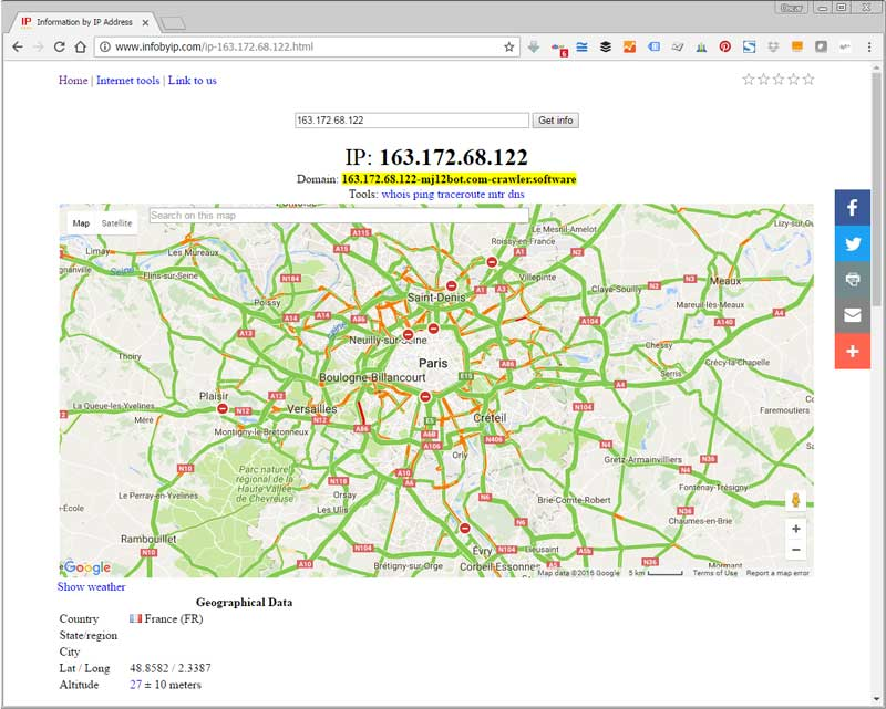 Información IP