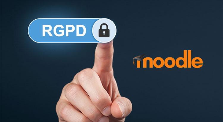 Cumplimiento del nuevo reglamento RGPD en Moodle